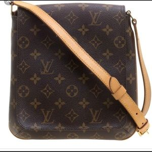 Authentic Musette Louie Vuitton crossbody